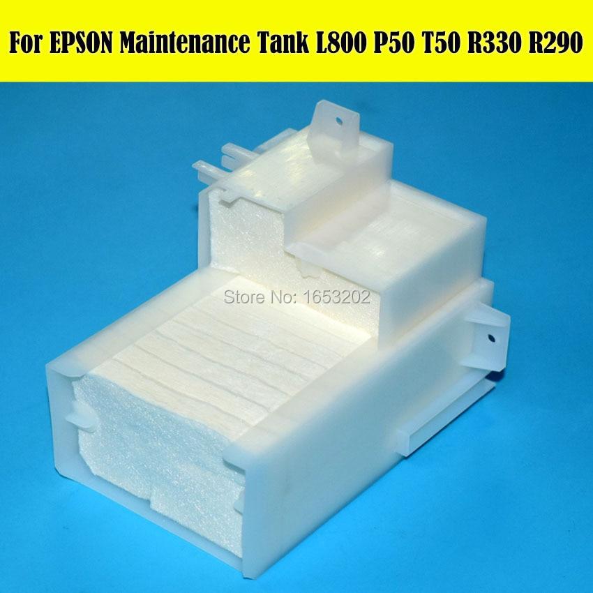 100% Original NEW Waste INK Tank Pad For Epson L800 L810 L805 L801 T50 T60 A50 P50 R330 R290 R390 PC650 Maintenance Tank 1 pc new original maintenance tank waste ink tank for epson l800 l810 l805 l801 r330 t50 a50 p50 r270 r290 r390 printer