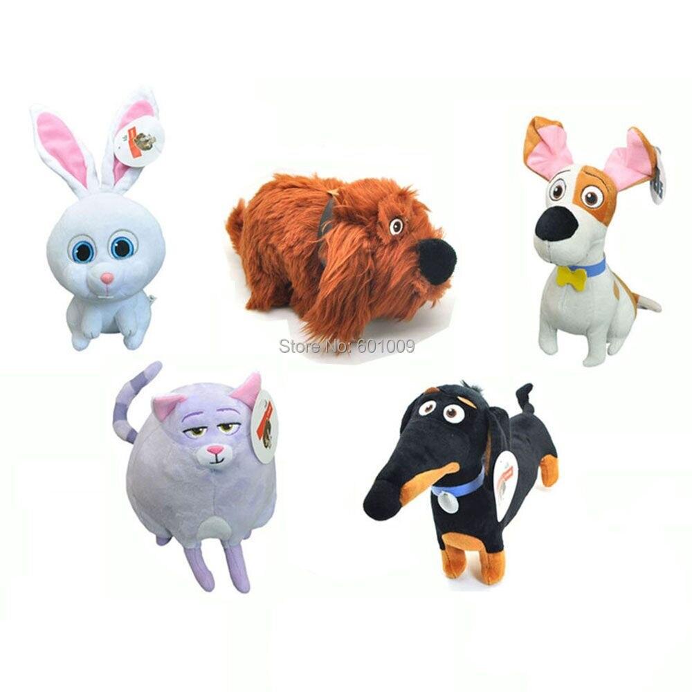 Free Shipping EMS 100 Lot 5 Styles 6 9 Dachshund Duke Dog Chloe Max Snowball Clip