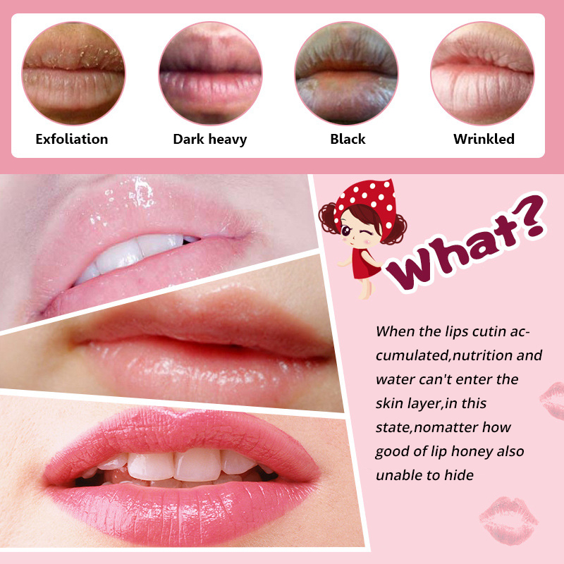 5pcs crystal collagen pump lips mask lot beauty exfoliator anti wrinkle mask moist pink lips care full lips plumper pink mask in treatments masks from