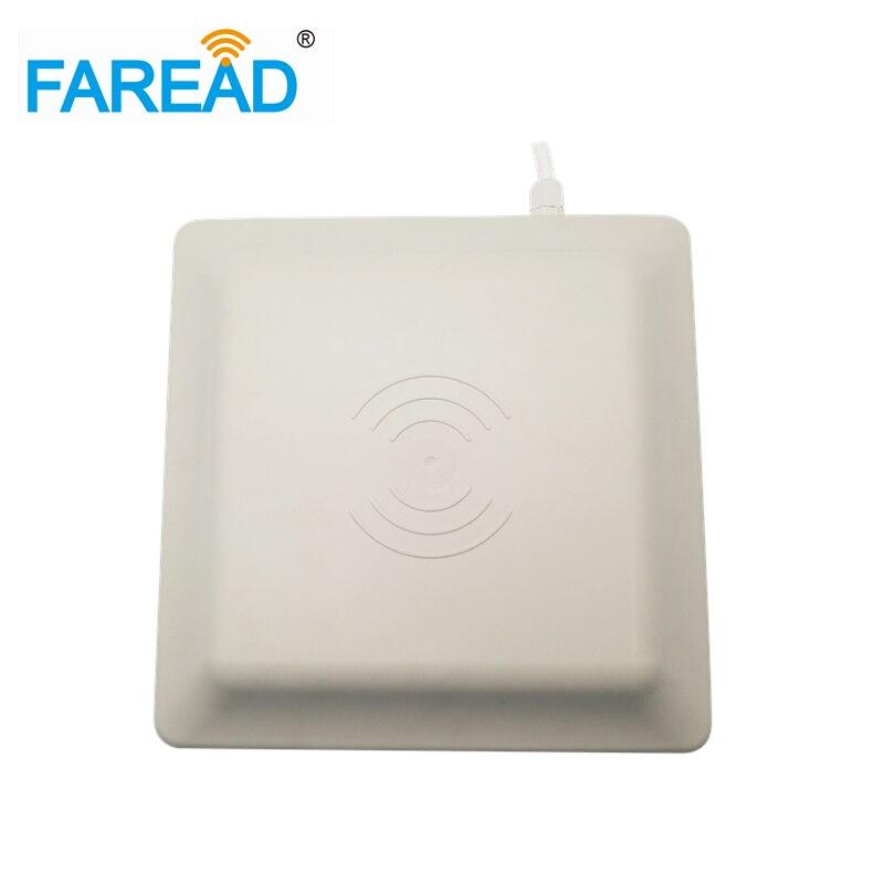 860-960MHz 8dBi UHF RFID Reader ISO18000-6C (EPC C1G2) ISO18000-6B Range For 3-5m