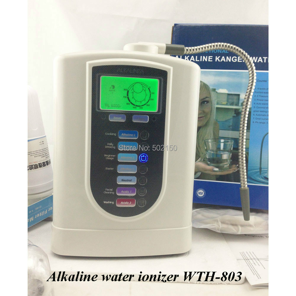 Advanced Kitchen Water Filter WTH-803 High Quality! New Platinum Water Ionizer Filter цена