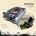 Children favorite toy gift CubicFun 3D puzzles model Beijing siheyun paper puzzle presents MC142H