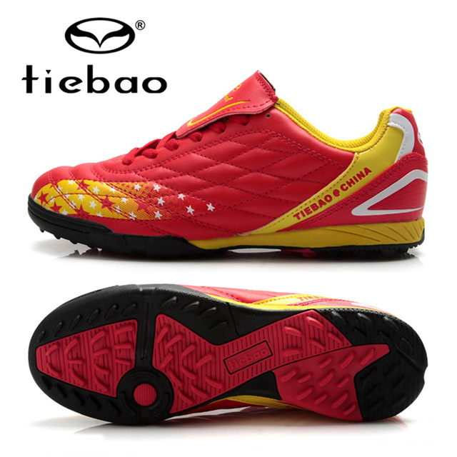 f427c260f14 TIEBAO Professional Adult Men Women Soccer Shoes Outdoor Football Boots TF  Turf Soles Athletic Training Football Cleats Sneakers