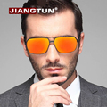 JIANGTUN Aluminum Magnesium Polarized Sunglasses Men Driving Sun Glasses Oculos De Sol Masculino Outdoor Eyewears Accessories