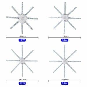 Image 3 - Tavan işık kaynağı 12W 16W 20W 24W LED tavan lambası ahtapot modül lamba kurulu 220V Led ampul kolay kurulum tavan ışık