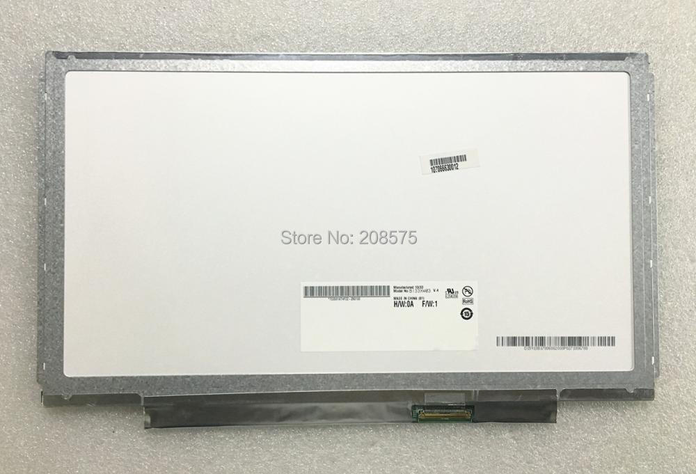 Free Shipping B133XW03 V.4 V4 B133XW03 V.5 B133XW01 V.0 B133XW03 V.0 N133B6-L24 Laptop LCD screen 1366*768 LVDS 40pins free shipping n133bge lb1 b133xw01 v 2 b133xw01 v 3 lp133wh2 tla4 left right 2 screw holes for acer 3810t tm8371g 3820zg