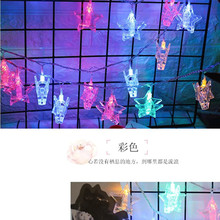 2018 New Arrival Fairy Colorful Star String Phote Picture Clip String Light 1.5M 10 Led Lamp Garland Holiday Wedding Decor Light