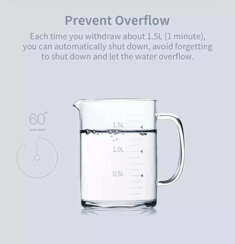 XIAOMI Mijia 3LIFE Automatic USB Mini Touch Switch Water Pump Wireless Rechargeable Electric Dispenser Water Pump With USB Cable (5)