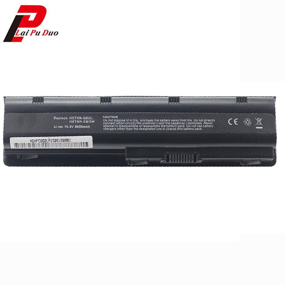 Nouveau 8800 mAh Batterie D'ordinateur Portable pour HP MU06 MU09 WD548AA pour Compaq Presario DV6 DV7 HSTNN-LB0W CQ32 CQ42 CQ43 CQ56 CQ62 DM4 DV3 DV5