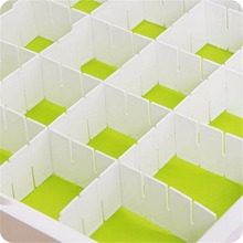 6 решеток пластиковый ящик-сетка, сделай сам разделитель Галстук Органайзер для носков и белья бытовой офисный органайзер для хранения предметов первой необходимости