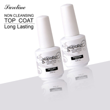 Saroline Top Coat and Base Coat  Long lasting Varnish Manicure Nail Gel Foundation Coat for Nail Polish 15ml Soak Off