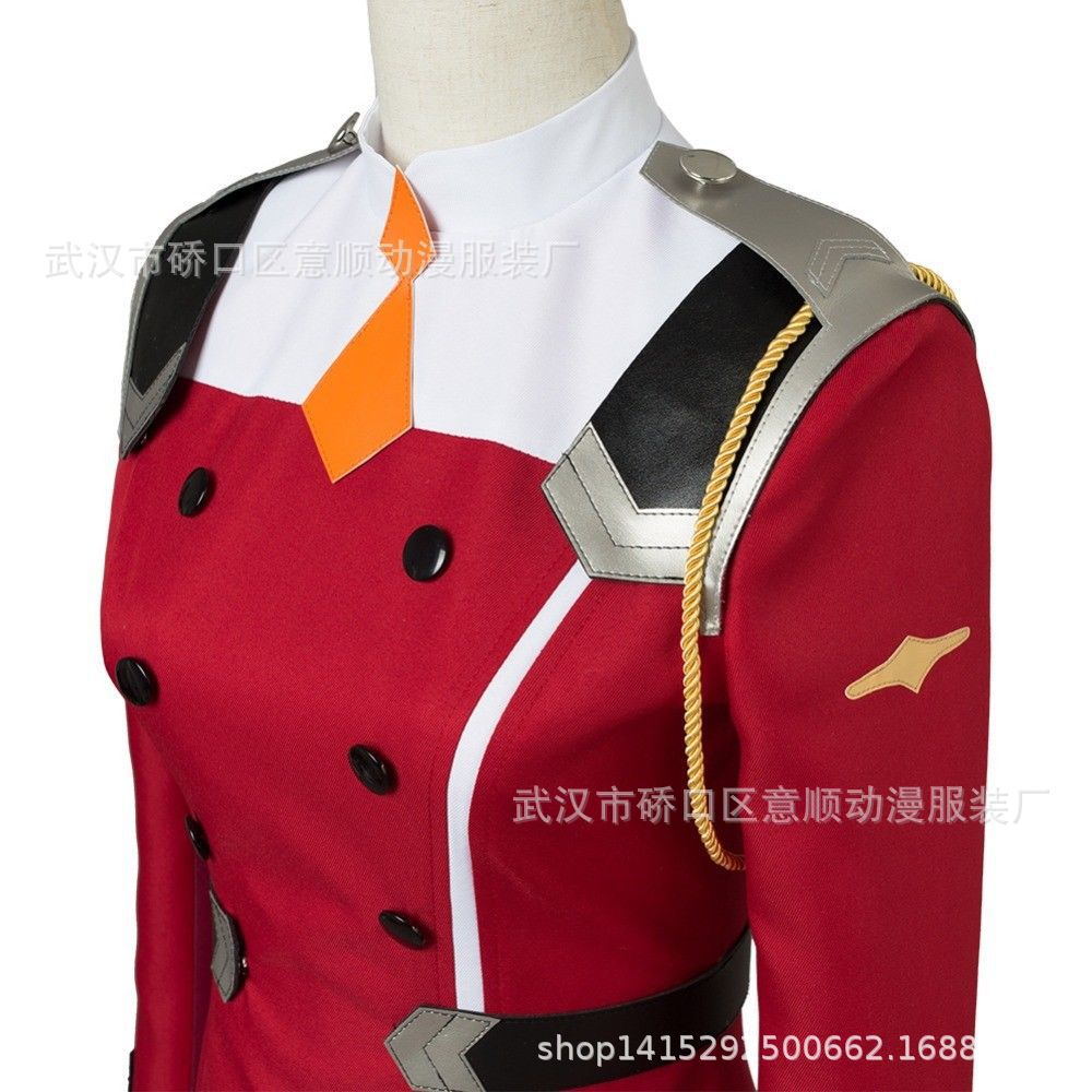 02 Zero Two Косплей Костюм Дарлинг в франкс Косплей DFXX женский костюм полный комплект платье