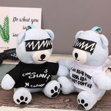 8000 mAh External Battery Pack Fluffy Bear Decorative Ornaments 5V 1A Output Phone Charger for iphone X Battery for Samsung