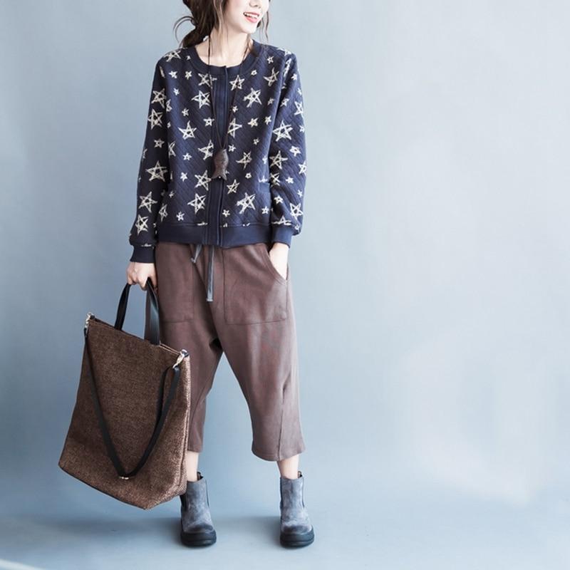 elseisle 2017 Harajuku Harem Şalvar Yay Yapon Çantalı Şalvar - Qadın geyimi - Fotoqrafiya 4