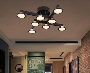 Nordic luci soggiorno luce a soffitto LED lampade studio camera da letto moda moderna personalità creativa soggiorno lampada da soffitto
