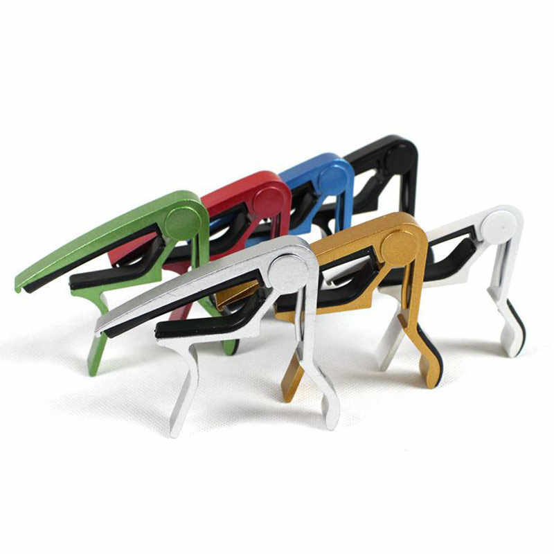 New Multicolor Capo Aluminum Diacritical Clip Guitar Capo Clamp Electric Acoustic Advanced Technology Accessories YS-BUY