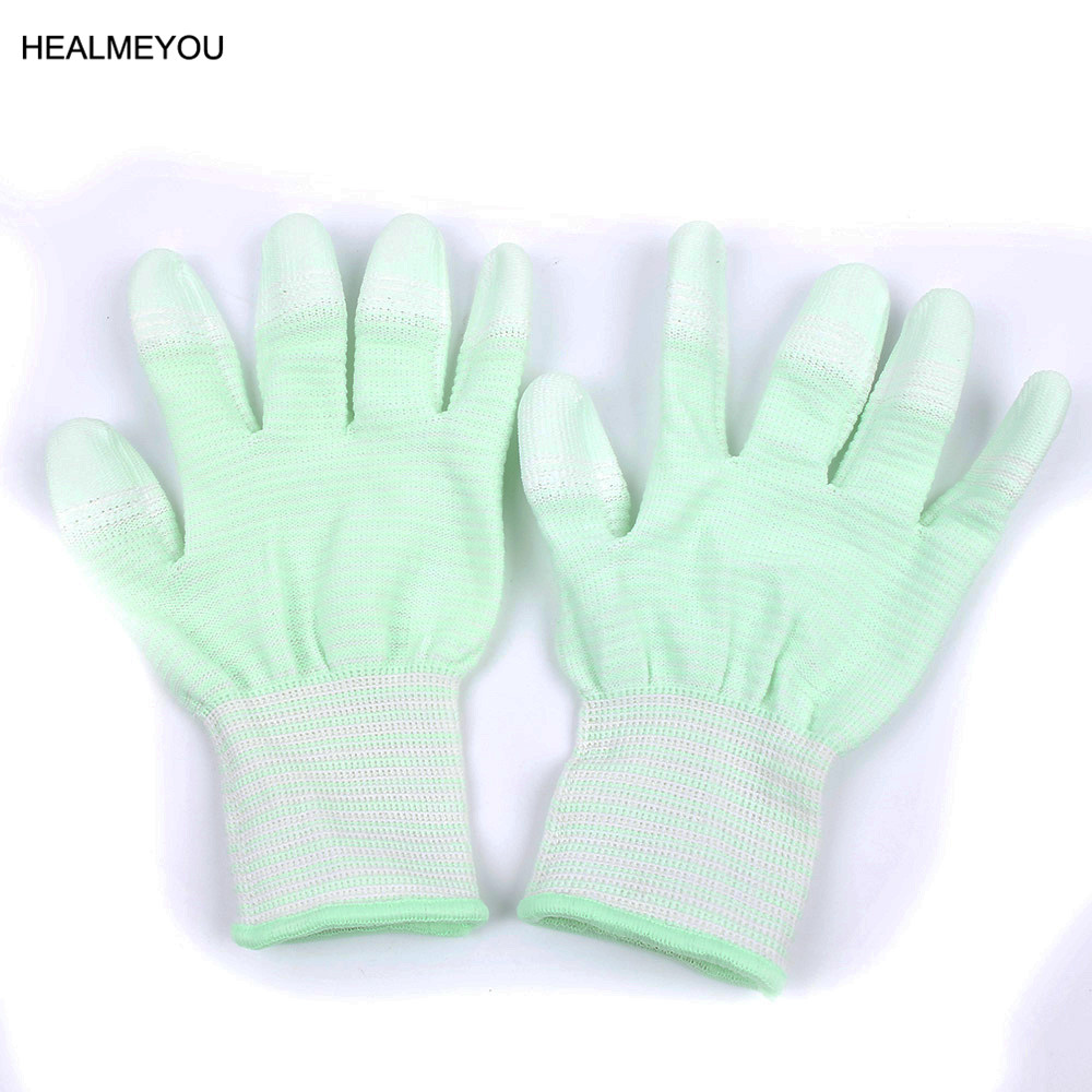 1Pair Nylon Quilting Gloves For Motion Machine Quilting Sewing Wamer GLOVES New