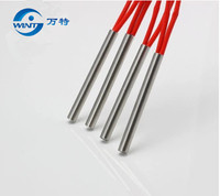 Free shipping 17mm*410mm Heater Length  220V 1100W  20mm*200mm  220V 700W  200mm wire Heater Heating Element each 20pcs heater element heater heater heater element 220v -