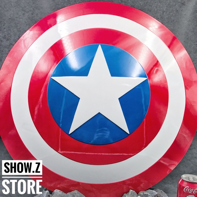 [ABS Made] V1.0 CATTOYS 1:1  Captain America Shield Comic Color Version Replica Prop