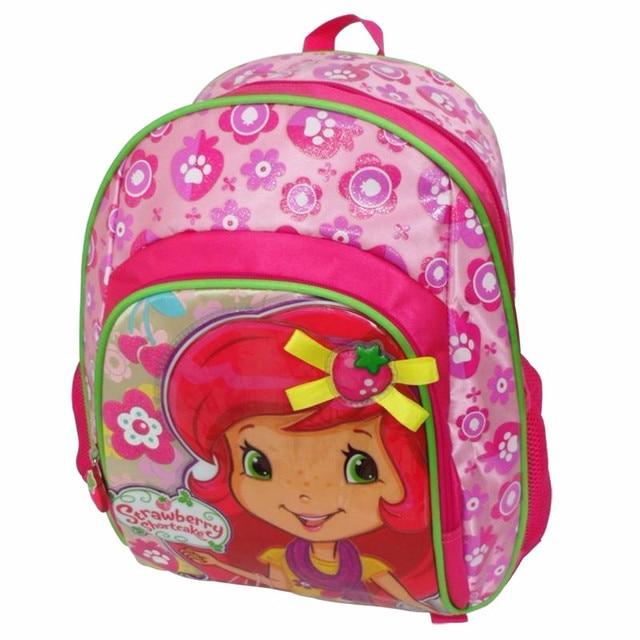 0efb29a0ca Cute Strawberry Shortcake Backpack Kids Children School Bags Schoolbag  Rucksacks Elementary School Backpacks for Girls Grade