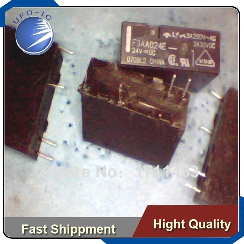 1PCS F1CA024V FTR-F1CA024V 24VDC Original Fujitsu relais 8 broches
