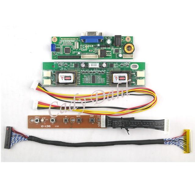 "VGA ЖК-дисплей плате контроллера Модуль для 19 ""m190a1 l0a m190a1 L02 m190pw01 V0 lm190wx1 tlc1 1440x900 2ch 8 бит 30pins ЖК-дисплей Панель"