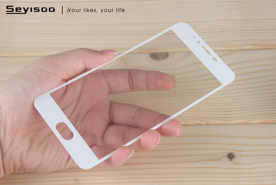 Seyisoo Brand Full Cover Tempered Glass For Meizu M5 (13)