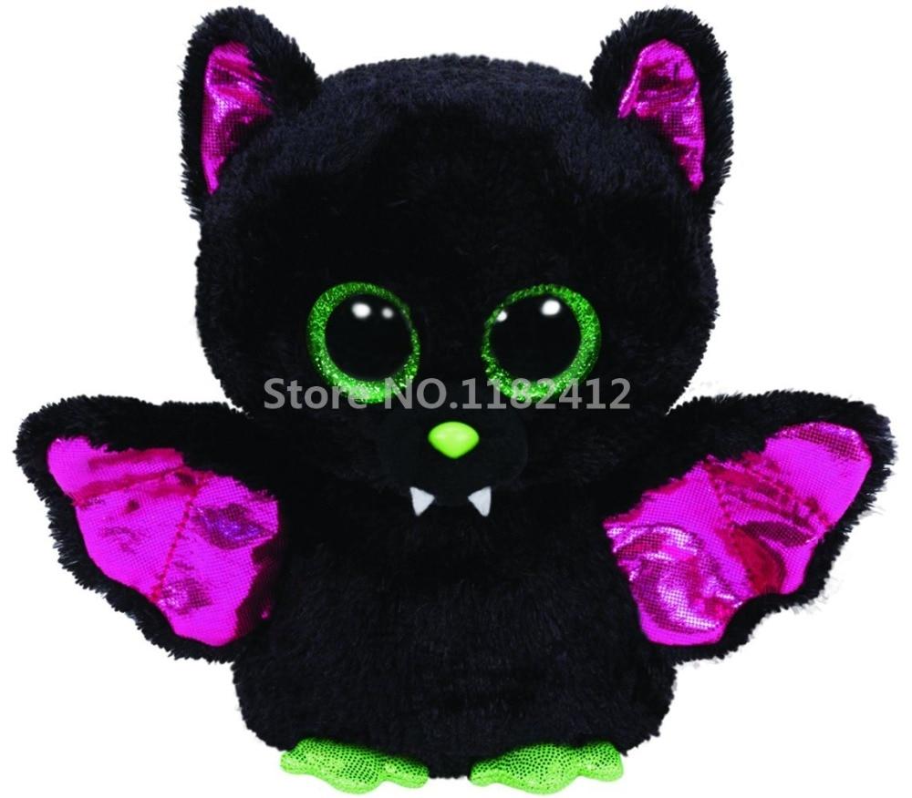 Beanie Halloween Igor Bat Plush Toy Cute Stuffed Animal Big Eyes 15cm 6''  Soft Toys for Children Baby Kids Gifts - Halloween Stuffed Animals Promotion-Shop For Promotional Halloween