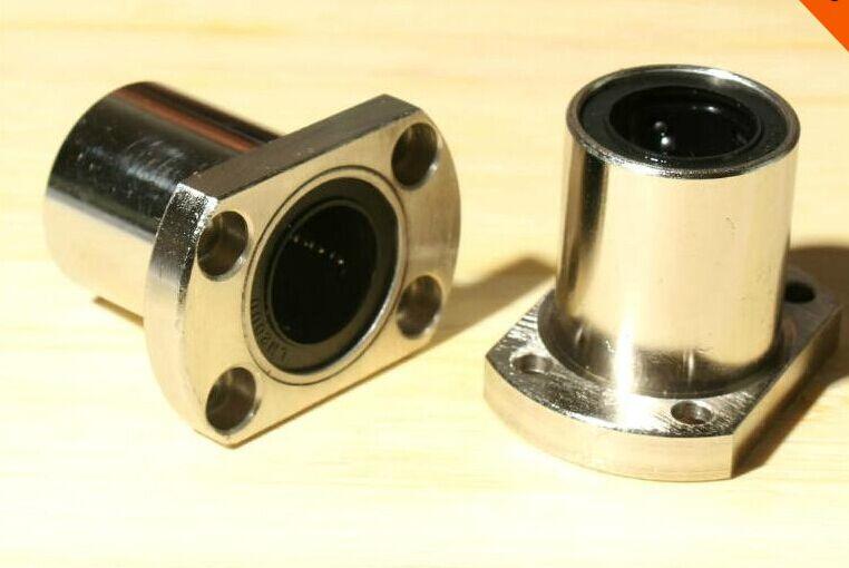 4pcs/Lot LMH25UU 25mm H Flange Type Linear Motion Bearing 25x40x59 mm Bushing Shaft CNC Parts type 59 когда можно