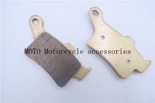 Best price Rear Motorbike Brake Pads Disc For CAN AM Spyder RT/RT-S/RT Ltd/ST Brembo calipers 2013 Rear Brake Pads