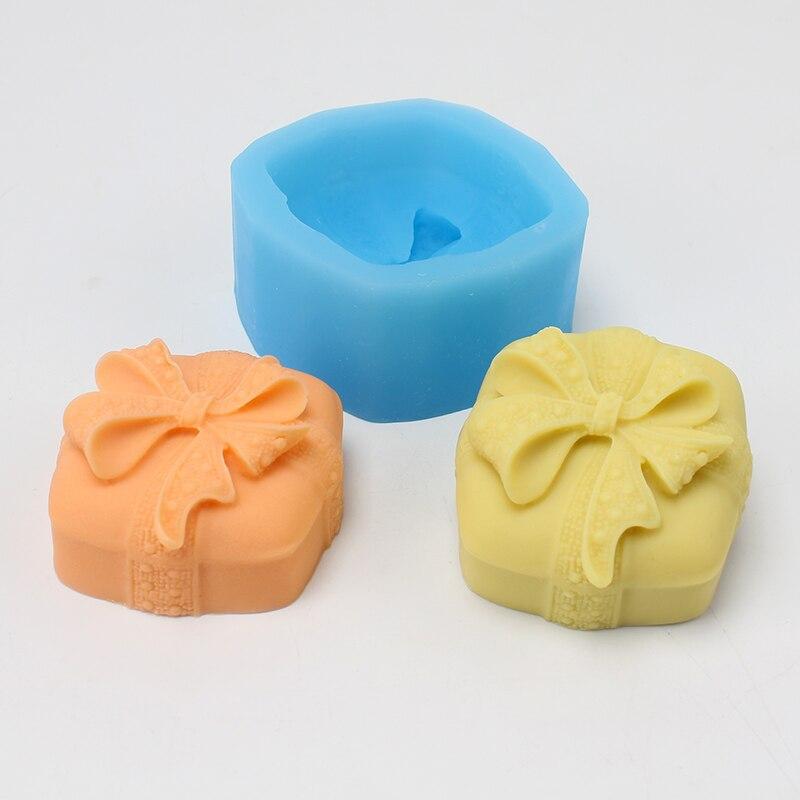 Новая силиконовая форма для мыла, Подарочная коробка, форма для шоколада, конфет ручной работы, форма для мороженого, мусс, инструмент для торта