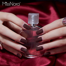 MISS NORA 2019 Fast Dry Water based Nail Polish Varnish 6ML Available Colorful Gel for Stamping Art Lacquer