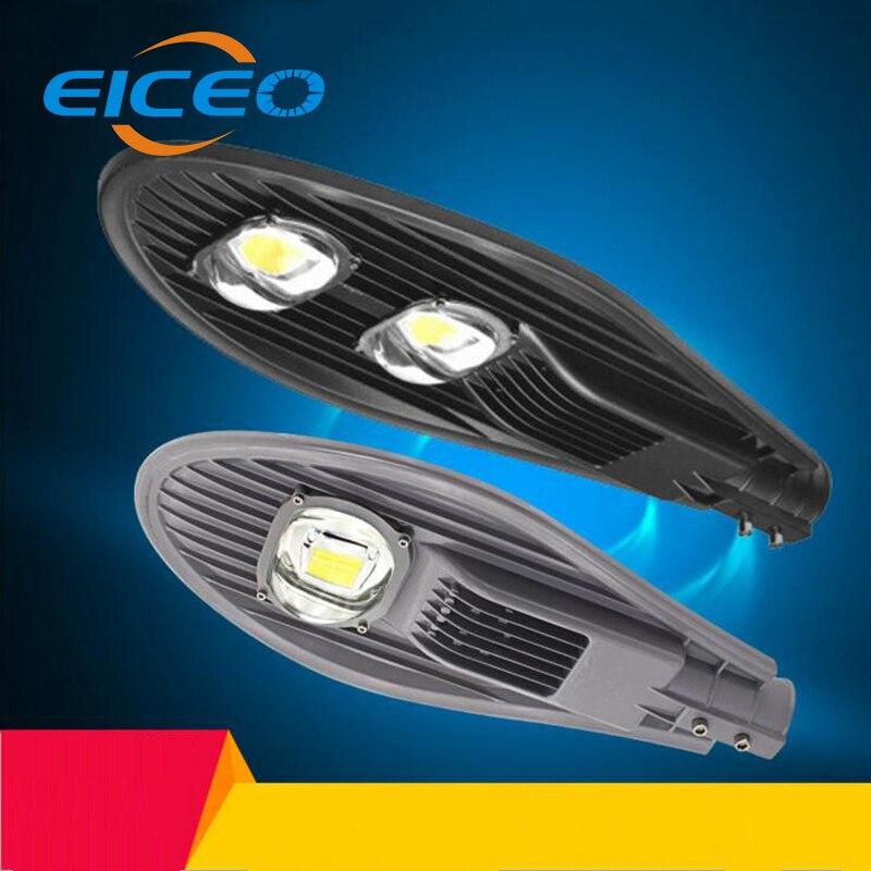 (EICEO) lampe à LED pour route lampes d'extérieur rue petit Cantilever étanche fil machine haute pôle lumières LED lampadaire 30 W/50 W/100 W