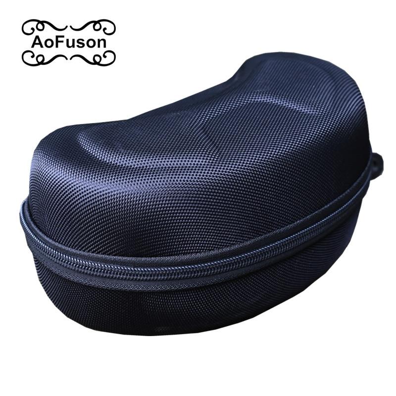 Оригинальная упаковка лыжные очки коробка подлинной большой емкости, ударопрочный, водонепроницаемый, падение, защита ЕВА место для Футляр...