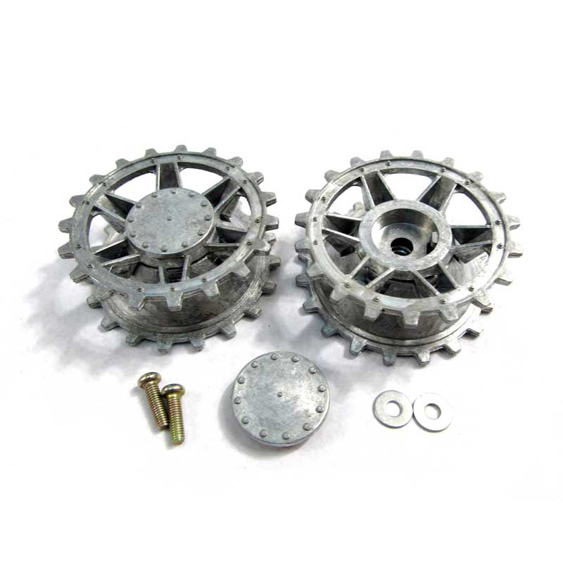 Mato metal driving wheels/ sprockets for Heng Long 3858-1, 3859-1 1:16 1/16 Panzer IV F, F2 tank,metal spare parts,accessory