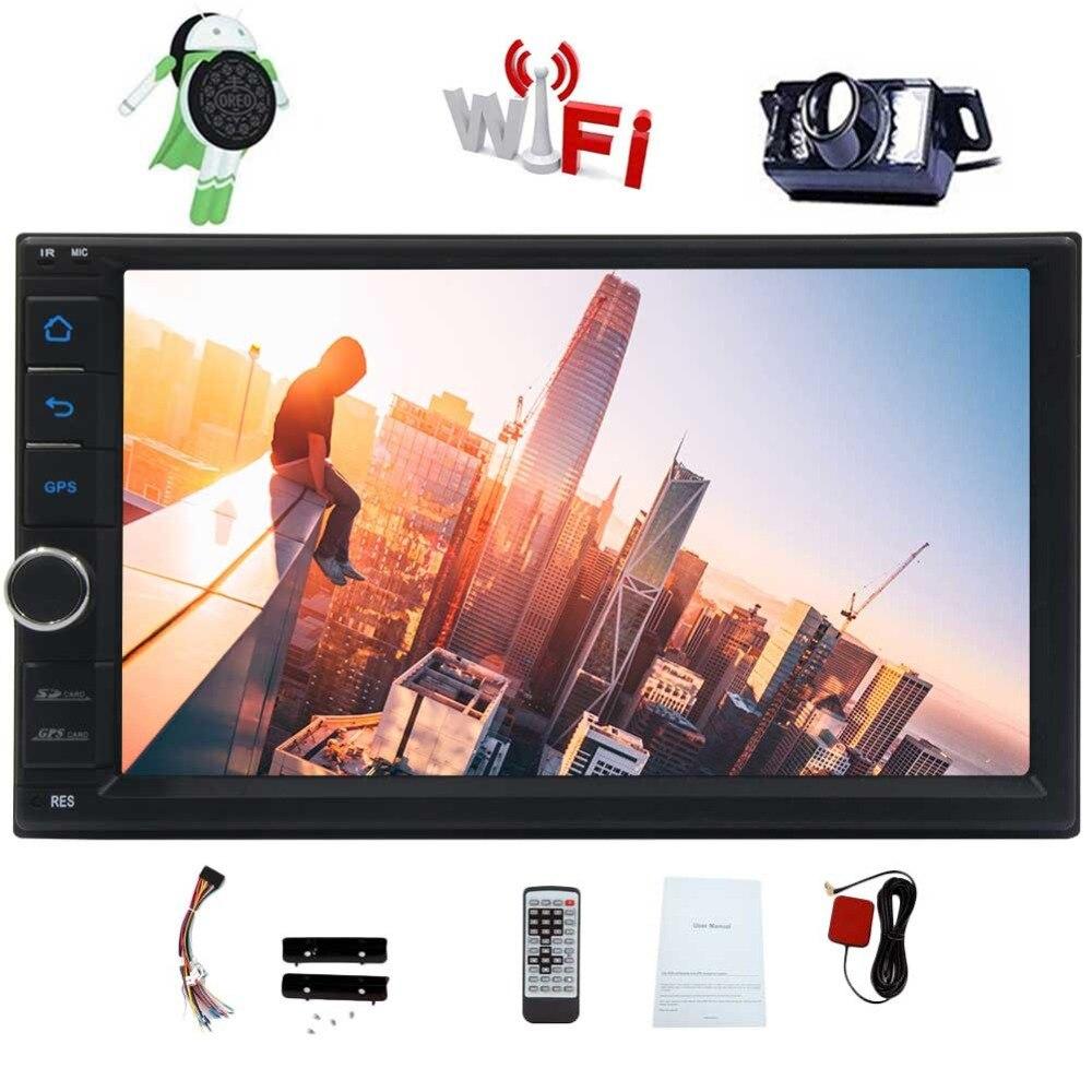 Bluetooth Hands Video Mirror Link 3G/4G Wifi FM/AM/RDS/USB DVR(DVR Camera not included) Android 8.1 Car Stereo 7 GPS Car gps gps модуль для dvr 630