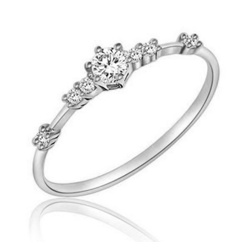 OTOKY 2018 Hot Sale 1pc Women Fashion Eternity Thin Rings Plating Wedding Jewellery Drop ...