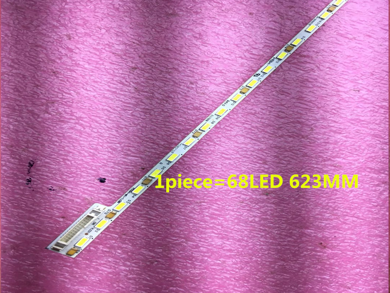 Flight Tracker 1 Stück FÜr Haier Le50a5000 50du6000 50 Zoll Lampe Streifen Artikel Lampe V500h1-me1-tlem9 Bildschirm V500hj1-me1 1 Stück = 68led 623mm