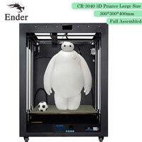 3D printer CR 3040/CR 3040s Full Assembled 3D printer Large print size 300*300*400mm High precision Creality 3D n 1KG Filament