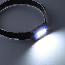 Mini LED Headlight Headlamp Waterproof Head  Torch Lantern Lamp Light Outdoor Camping Hiking Fishing
