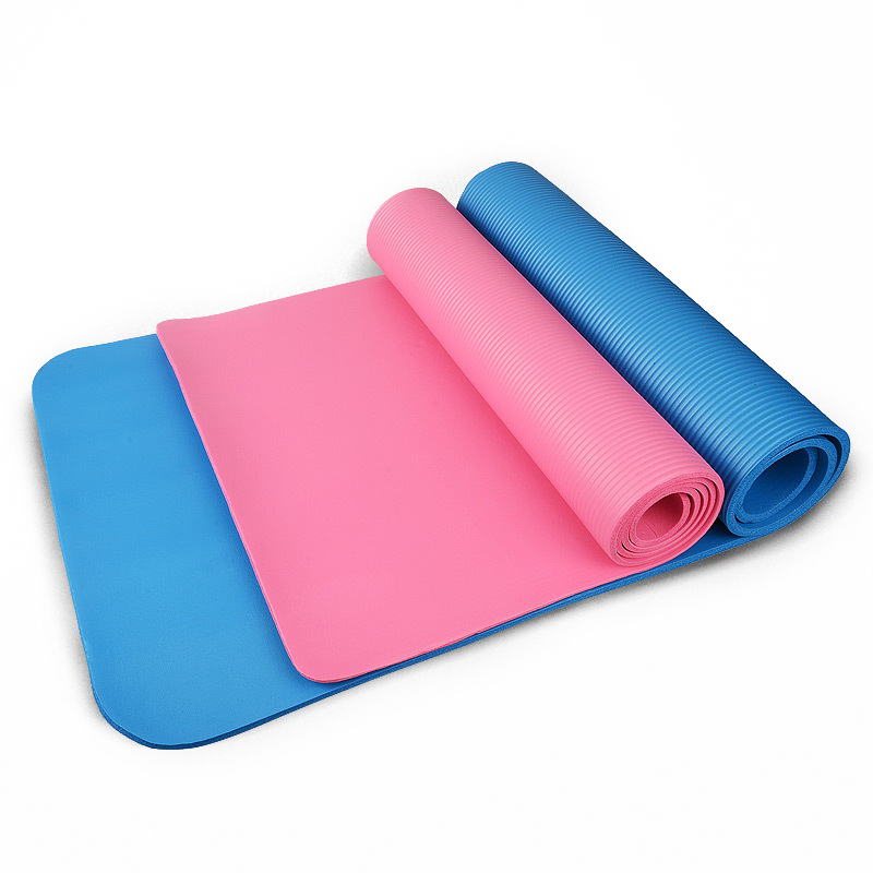 3 Colors Outdoor 4MM Foldable Exercise Yoga Mat Non-slip Thick Pad Fitness Pilates Mat Fitness