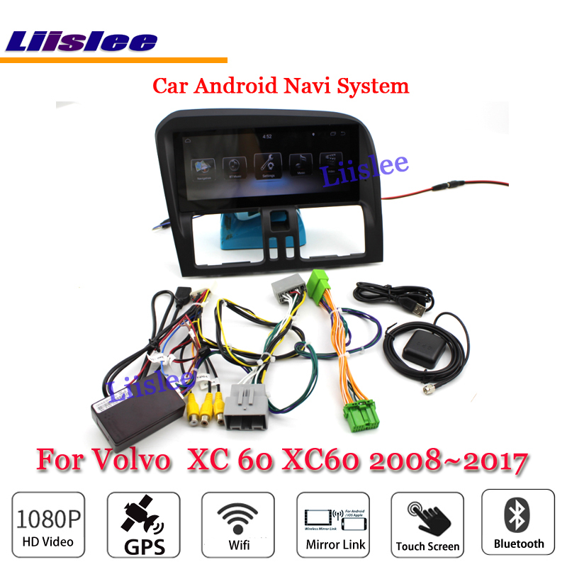 где купить Liislee Car Android Multimedia For Volvo XC 60 XC60 2008~2017 Radio Video Stereo Mirror Link BT GPS Map Navi Navigation System дешево