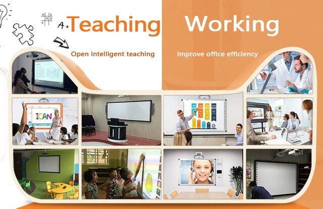 Haute qualité puissant logiciel Oway fabricant Portable interactif tableau blanc éducation outils d'enseignement enfants conseil 3