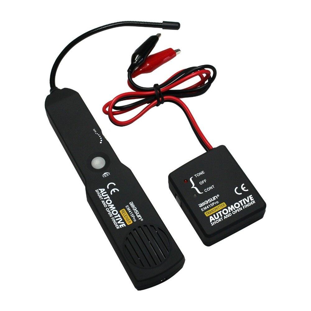 All-Sun EM415pro Automotive Tester Cable corto Open Finder herramienta de reparación probador rastreador de coche diagnóstico de tono buscador de línea
