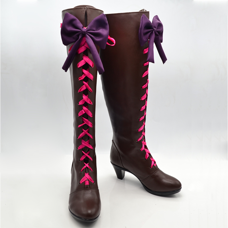 Customize Boots Black Butler Alois Trancy High Heel Cosplay Shoes Boots BScos