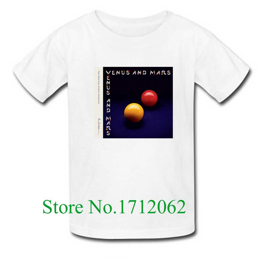 US $19 99 |Custom Crazy Venus and Mars Paul McCartney Wings Men's T Shirt  Classic Short Sleeve Size M 3XL Tshirt-in T-Shirts from Men's Clothing on