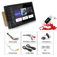 Rhythm 2+16G Android 6.0 Car Radio 2 din stereo auto radio car stereo touch screen universal player support bluetooth Radio WIFI