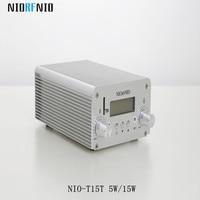 Envío Libre Al Por Mayor NIO-T15T 15 W Estéreo de Radio y Equipos de Televisión con la Tarjeta DEL TF