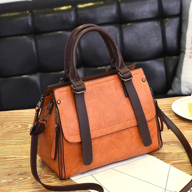 2019 Designer Fashion Women Bag Pu Leather Handbags Ladies Crossbody Bags Trendy Luxury Tote Female Shoulder Messenger Bags
