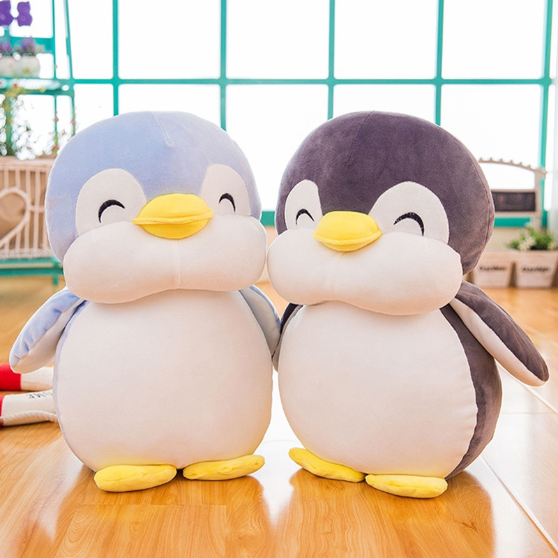 1pc 30cm Kawaii Penguin Plush Toys Soft Staffed Cartoon Animal Doll Lovely Toy for Kid Baby Cute Girls Christmas Birthday Gift